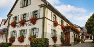 Brauerei Gasthof Pfister Quelle: Webseite Brauerei Gasthof Pfister, Januar 2017